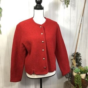 Orvis Wool Jacket with Jeweled Buttons 10